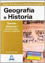 temario-de-oposiciones-geografia-e-historia-editorial-mad-volumen-I-geografia-fisica-humana-regional