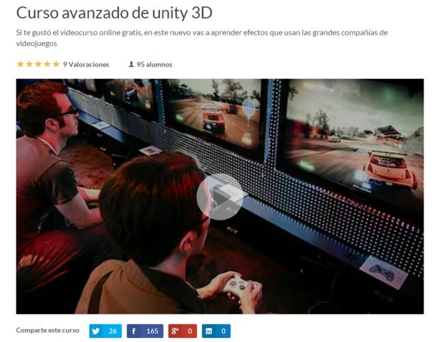 curso avanzado de unity 3d