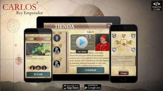 carlos v serie videojuego descargar app