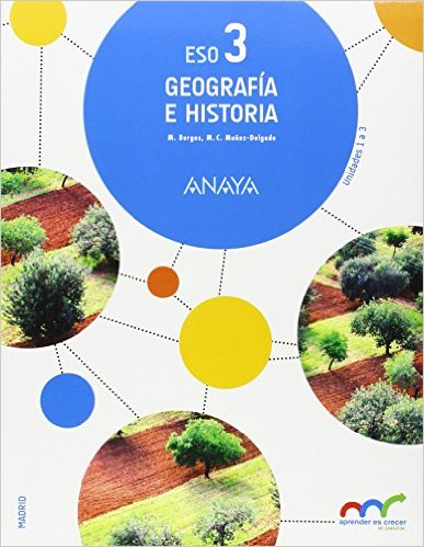 libro de texto geografia e historia 3 eso anaya