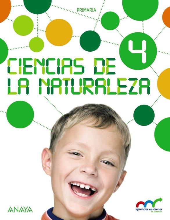libro de texto Ciencias de la Naturaleza 4. Natural Science 4. In focus. (Aprender es crecer en conexión) editorial anaya primaria