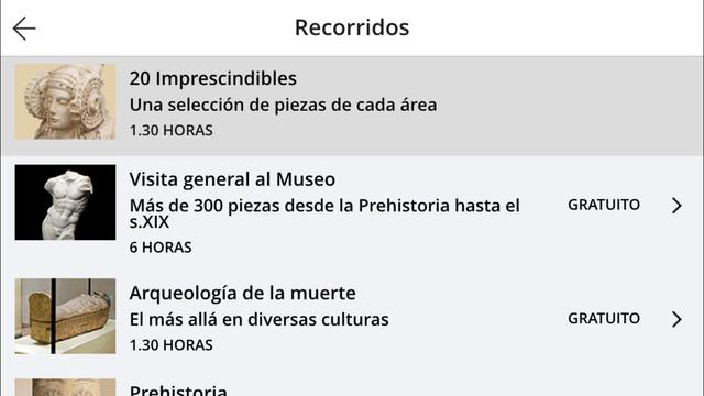 app museo arqueologico nacional de madrid visita