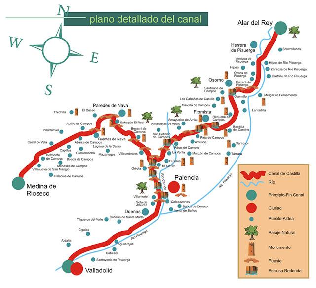 mapa-canal-de-castilla