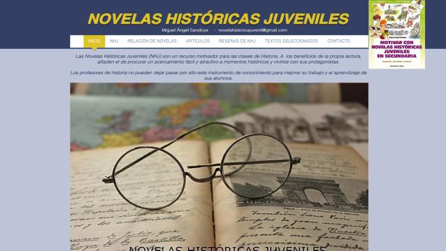 Novela-Histórica-Juvenil-clases-Historia- Secundaria